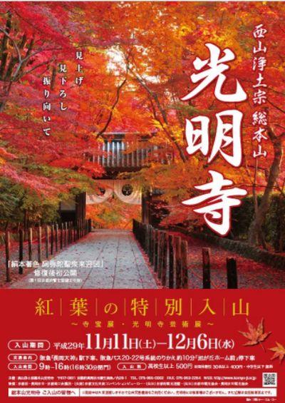 光明寺紅葉の特別入山